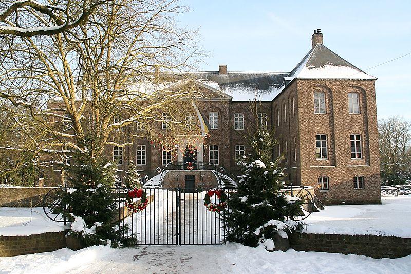 Die Schlossgärten Arcen befinden sich in Winterpause