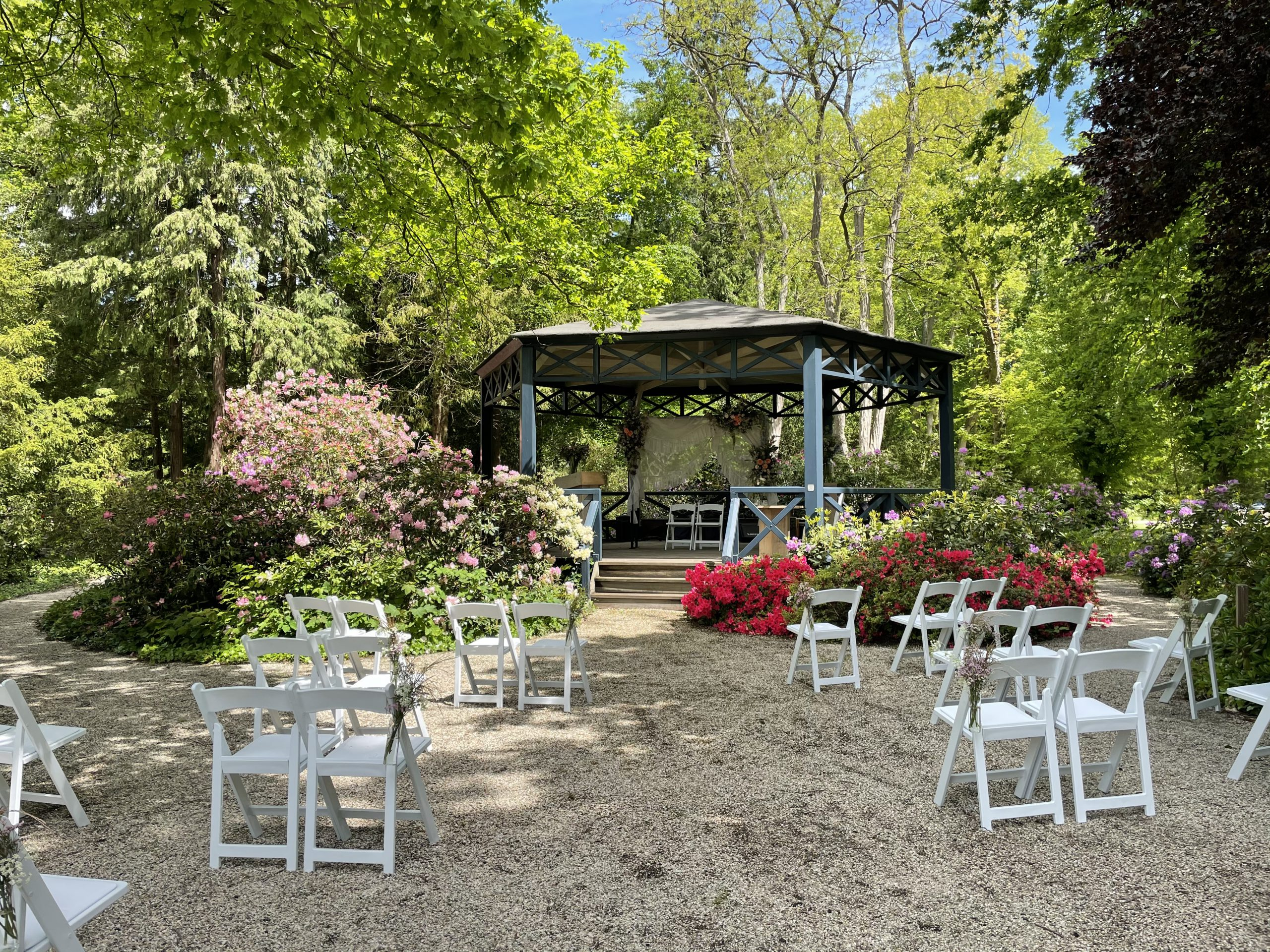 Heiraten in den Schlossgärten Arcen