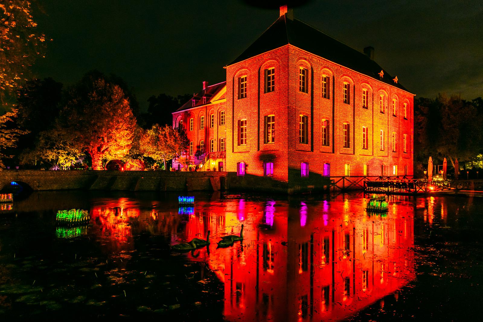 Tickets Lichtkunstfestival Enchanted Gardens vanaf nu te koop!